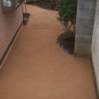 鶴見区 個人宅庭の真砂土を使用した雑草対策